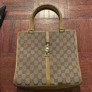 Gucci tan purse
